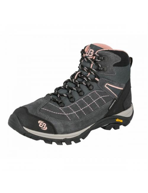 Brütting hiking shoes for women Mount Crillon High - Grey