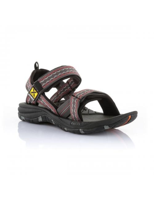 Source sandals for men Gobi Oriental Brown Red-outdoor-Brown