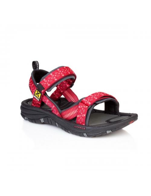 Source sandalen voor dames Gobi Tribal Red - outdoor - Rood