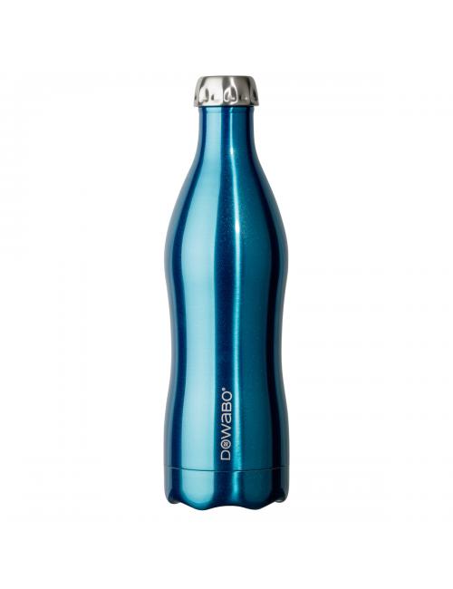 Botella termo Dowabo colección doble pared Metalizada - 750 ml-Azul