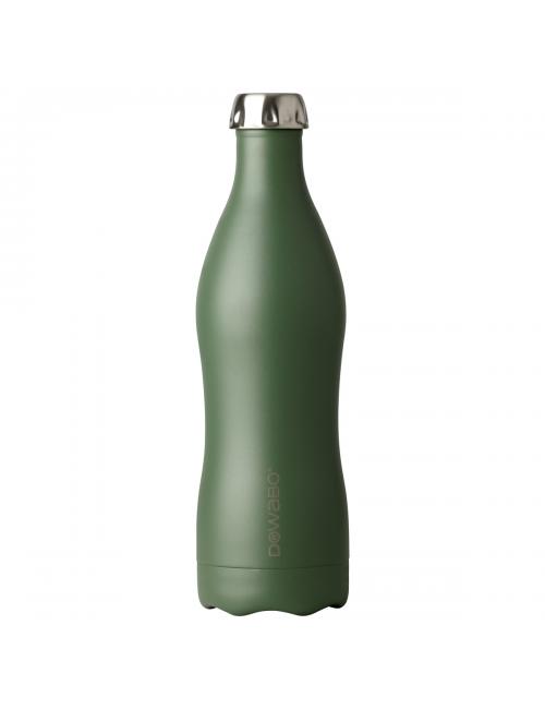 Botella termo Dowabo doble pared - Colección Tierra Oliva-750 - ml-Verde