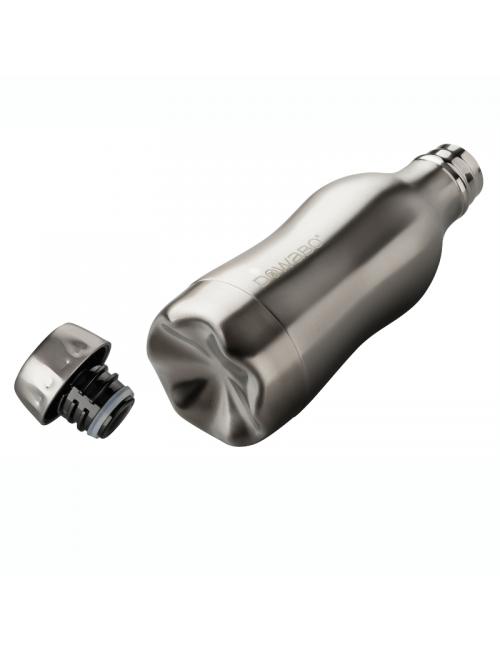Botella termo Dowabo doble pared Acero Puro - 750 ml-Plata