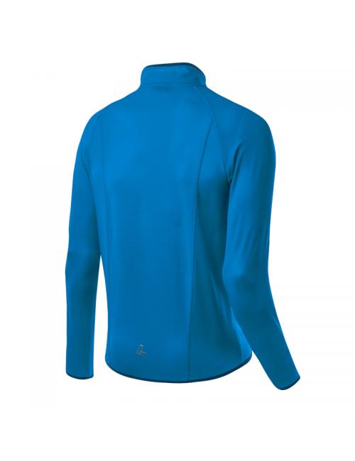 Löffler shirt lange ärmel Männer m Mid Jacke Tech Fleece Blau, See - Blau