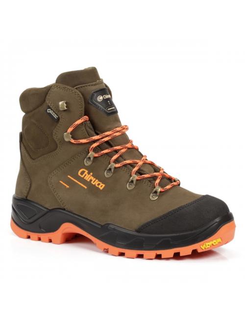 Chiruca walking shoes Game Force Hi - Vis-Goretex-Vibram-Brown