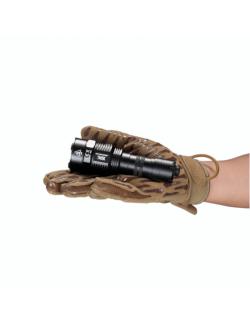 NiteCore flashlight TM9K rechargeable and tactical-9500 lumen - Black