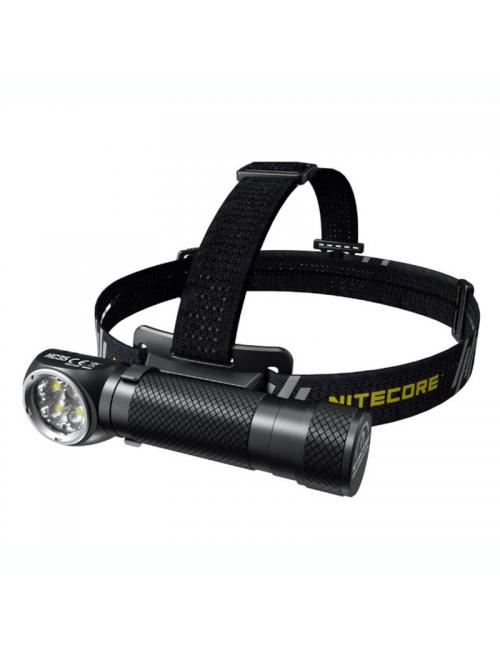 NiteCore Scheinwerfer HC35 und Taschenlampe in einem-2700 Lumen-Schwarz