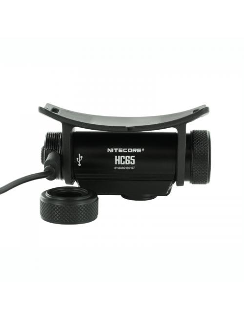 NiteCore Scheinwerfer HC65 weiß-und-rot-licht-1000 Lumen-Schwarz