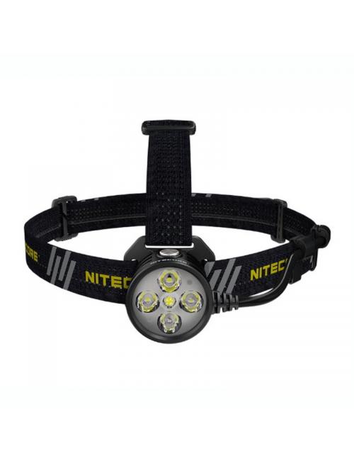 NiteCore Scheinwerfer HU60 USB-powered-Elite-1600 lumen - Schwarz