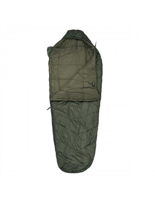 TF-2215 sacco a pelo mummia modulare 0°C 230 x 86 cm-Verde