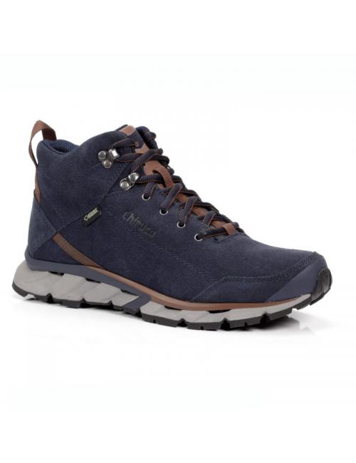 Chiruca walking shoes Aborigen 03 GTX Surround Mid-Vibram-Blue