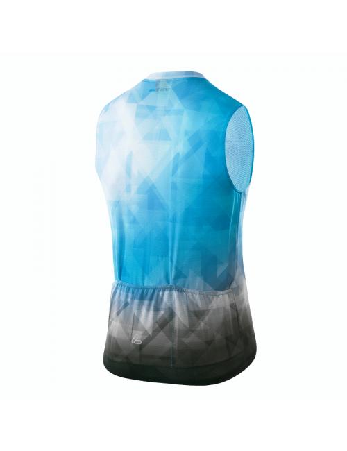 Chemise de cyclisme sans manches Loeffler Débardeur de vélo m FZ aero BL-Bleu