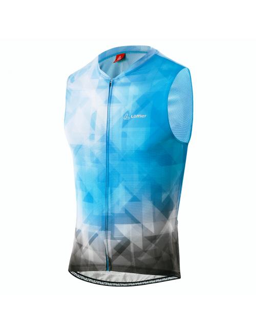 Loeffler camicia senza maniche ciclismo m Bike canotta FZ aero BL-Blu