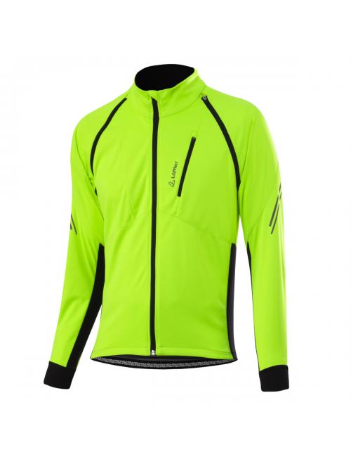 Loeffler chaqueta ciclista manga larga M Bike Zipp-off San Remo 2 Ws-amarillo
