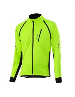 Loeffler cycling jacket long sleeves M Bike Zipp-off San Remo 2 Ws-yellow