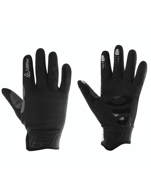 Loeffler Handschuhe Ws Warm GT Infinium™ Windstopper ® Gummi-Schwarz