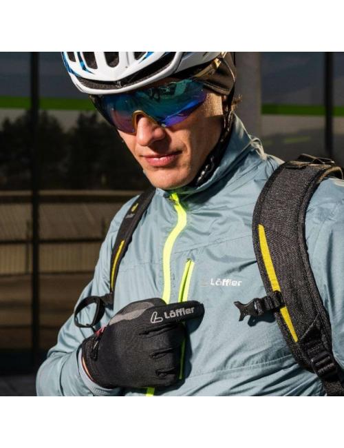 Loeffler gloves Ws Warm GT Infinium™ Windstopper ® Gummi-Black
