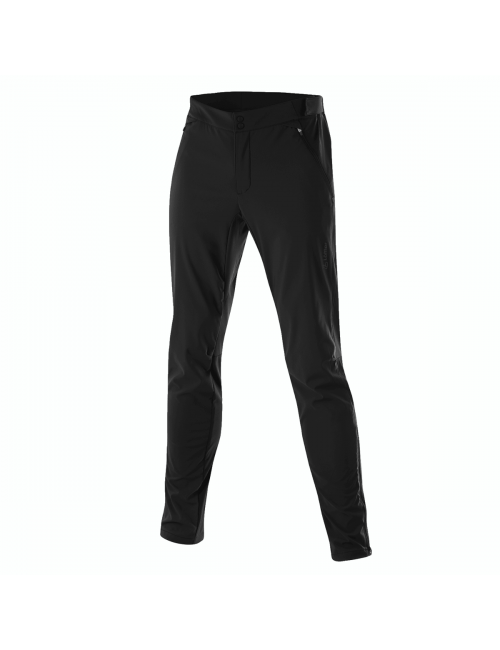 Loeffler cycling pants long MTB m axle without pad for Men - Black