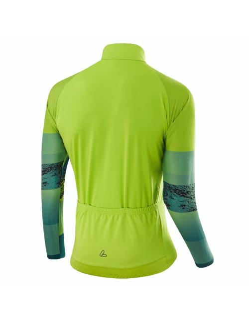 Loeffler camisa de ciclismo manga larga M Bike L / s Jersey Shalerock-Verde