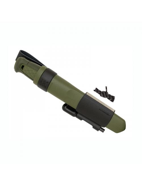 Mora survival knife ball Kit with polymer sheath-Green