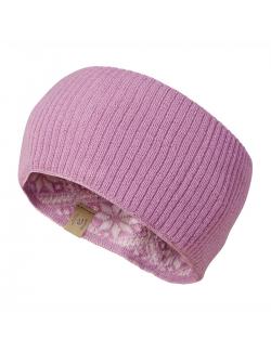 Ivanhoe knitted headband wool Freya Sweet Lilac - one Size - pink