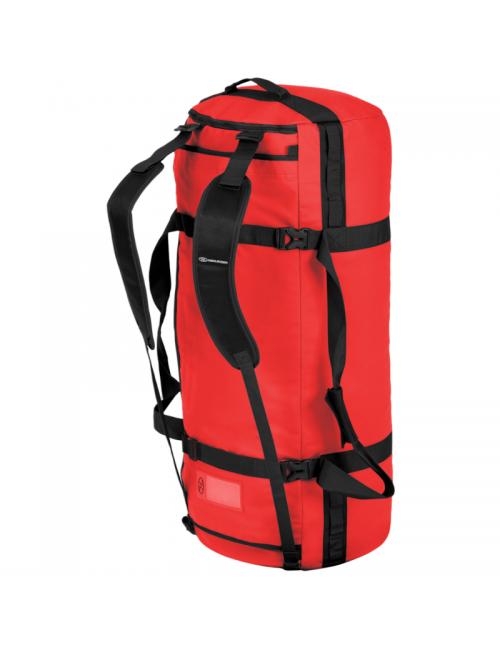 Bolsa de viaje Highlander duffle Storm Kitbag-120 litros-Heavy Duty-Rojo