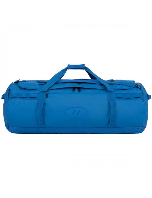 Bolsa de viaje Highlander duffle Storm Kitbag - 120 litros-Heavy Duty-Azul