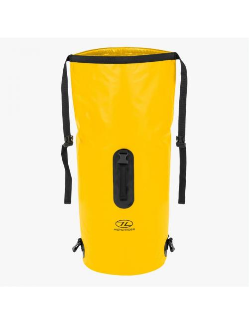 Highlander mochila impermeable Drybag throne 45 litros bolsa de lona-amarillo