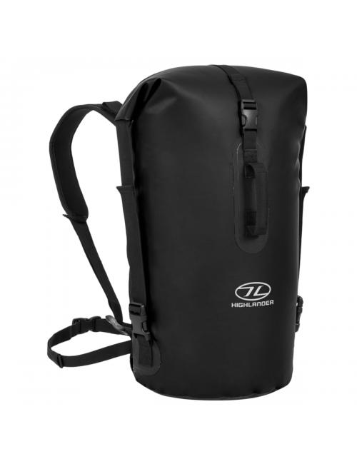 Highlander wasserdichter Rucksack Drybag mit 45 Liter Duffle Bag-schwarz