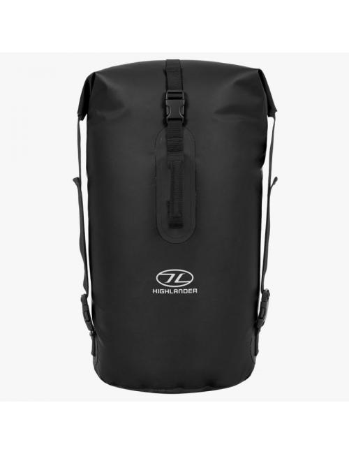 Highlander mochila impermeable Drybag trono 45 litros bolsa de lona-negro
