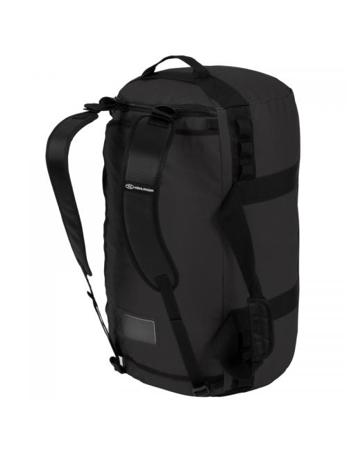 Highlander weekend bag Storm Kitbag - 65 litros-Heavy Duty-Negro