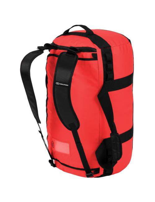 Bolsa de fin de semana Highlander Storm Kitbag - 65 litros-Heavy Duty-Rojo