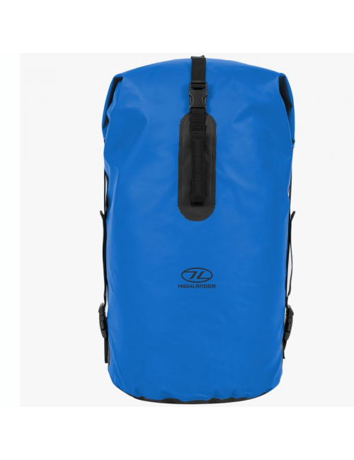 Highlander mochila impermeable Drybag trono 70 litros bolsa de lona-Azul
