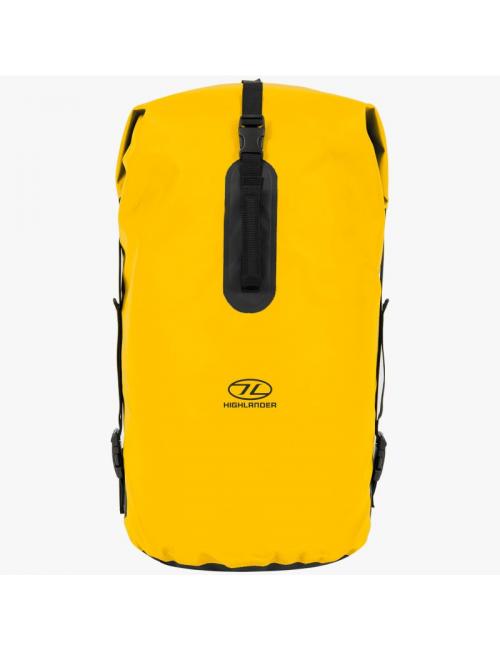 Highlander wasserdichter Rucksack Drybag throne 70 Liter Duffle bag-gelb