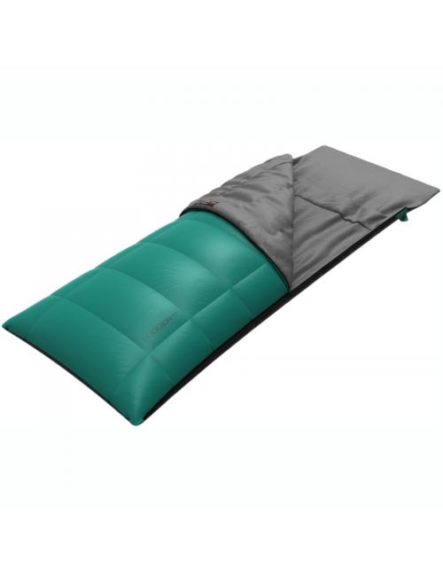 Hannah Outdoor slaapzak dekenmodel Lodger 200 rechts -11°C - Groen