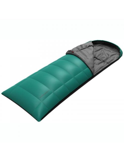 Hannah outdoor sleeping bag blanket model Ranger 200 left -4°C-Green