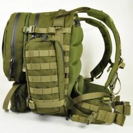 Defcon 5 rugzak Extreme modulair backpack 60 liter - Zwart