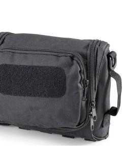 Defcon 5 Toilettas Tactical Compact met veel opbergruimte - Zwart